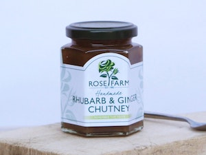Rhubarb and Ginger Chutney 200g.