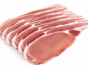Back Bacon 250g. (Brine cured)