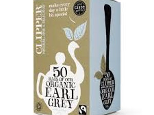 Clipper Organic Earl Grey Tea Bags box of 50 – Fairtrade