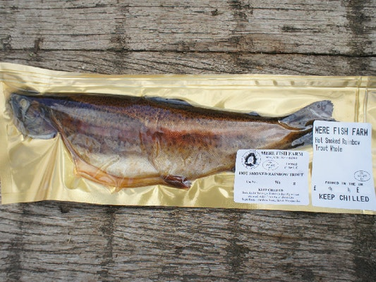 Hot Smoked Trout Whole (ready to eat), 170g - 227g ...