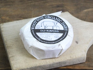 Old Burford Organic unpasteurised cows Soft Cheese 200g.