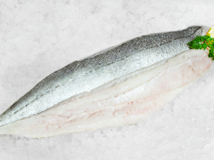 Fresh Cornish Hake Fillets, approx 200g