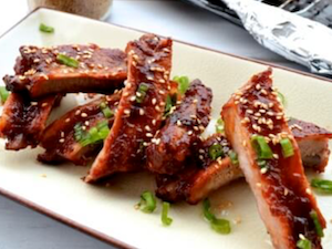 Chinese Spiced Pork Spare Ribs approx 500g (4 ribs)