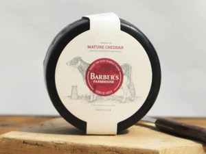 Barbers Farmhouse Cheddar, Waxed Truckle, 900g