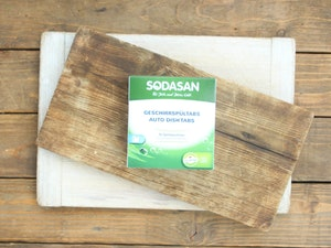 Sodasan Dishwasher Tablets, 25 tablets.