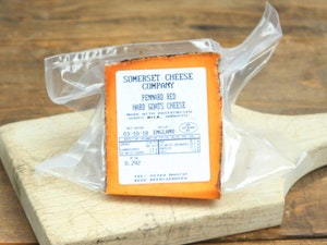 Pennard Ridge Red Goats Cheese (Rinded) approx 250g