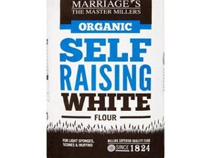 Flour, Organic Self-Raising White, 1kg