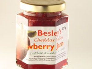 Cheddar Valley Strawberry Jam 227g.