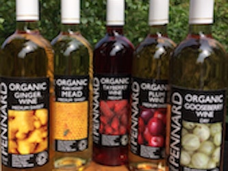 Pennard Organic Tayberry Wine 75cl. 12% alcohol