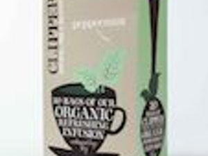 Clipper Organic Peppermint Tea Bags box of 20 – Fairtrade