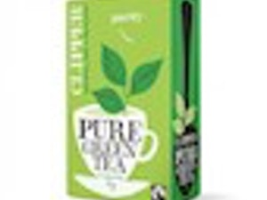 Green Tea Organic Clipper box of 26 bags – Fairtrade