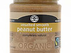 Smooth Peanut Butter (no salt) 350g. Organic