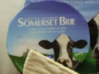 Cricket St Thomas Brie half cheese approx 500g.