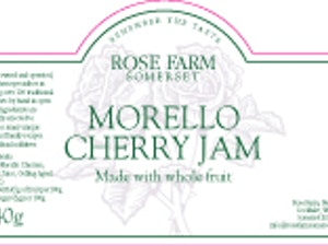 Morello Cherry Jam, 340g