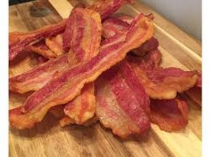 Smoked Streaky Bacon, 250g (Brine cured)
