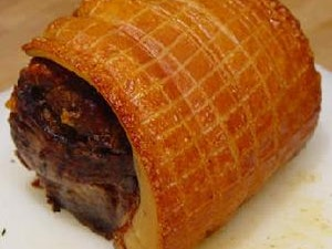 Organic Shoulder of Pork, Boned and Rolled, 1 kg