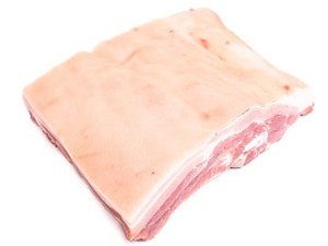 Organic Somerset Belly Pork in one piece, 1kg