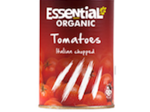 Organic Chopped Tinned  Tomatoes  400g