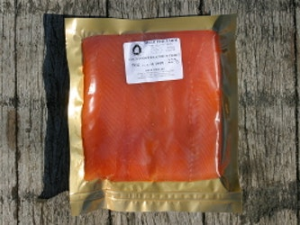 Cold Smoked  Rainbow Trout (sliced, no skin) min. 113g.
