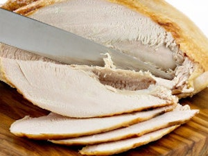 Sliced Cooked Turkey Breast, 180g approx