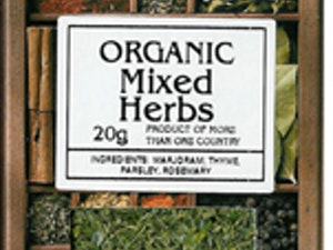 Mixed Herbs, Organic Dried, 20g
