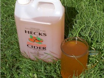 Dry Cider, 1 litre, plastic container