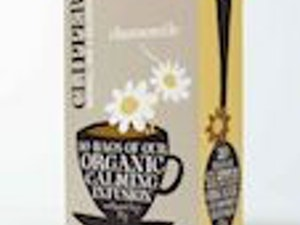 Clipper Organic Chamomile Tea Bags, box of 20 – Fairtrade