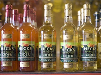 Mixed cider types, 750ml. bottles cases of 6