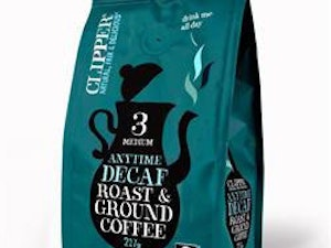 Clipper Decaffeinated Style Roast and Ground Coffee, 227g