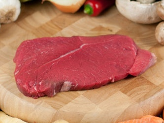 Organic Sliced Braising Steak, 500g approx