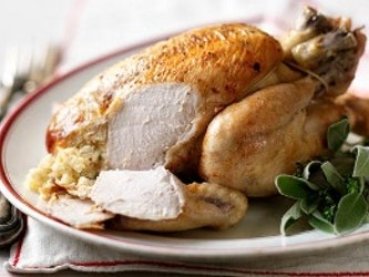 Free Range Oven Ready Chicken 2.2 to 2.3kg (giblets included)