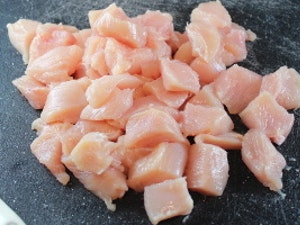 Free Range Diced Chicken Breasts, 500g