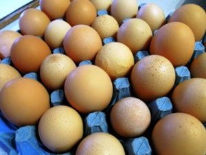 Eggs, 'Natures Own' Free Range, half dozen, (misshapes, odd sizes, etc)