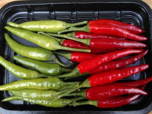 Chilli Peppers, Punnet, 300g