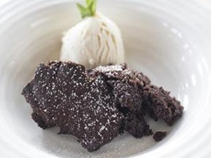 Chocolate Brownie Pudding, 275g (two servings), frozen