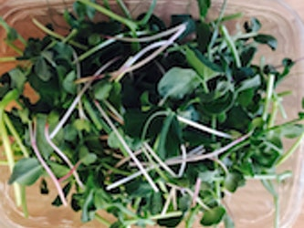 Naturally Grown Spicy Mix Micro-greens 75g