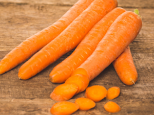 Carrots, Organic Washed, 750g