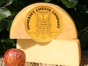 Rainbows Gold Unpasteurised Cows Milk Cheese (Rinded) approx 250g