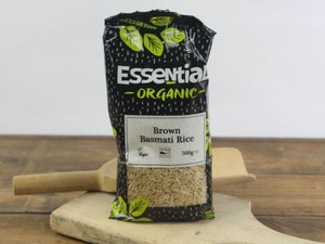 Brown Basmati Rice, 500g, Organic.