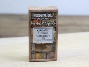 Ground Cinnamon, Organic, 30g