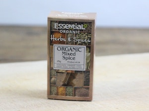 Mixed Spices, Organic Dried, 30g