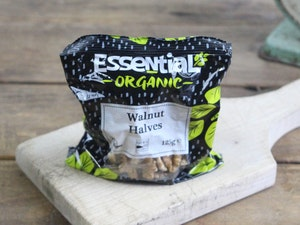 Walnut Halves, Organic, 125g