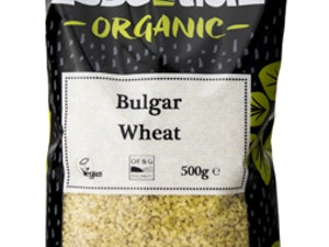 Organic Bulgur Wheat, 500g.