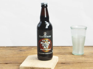 Glastonbury Ales, Black As Yer At, 4.3% abv, 500ml