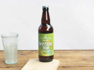 Glastonbury Ales Mystery Tor, 4.2% abv, 500ml.
