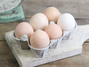 Eggs, Organic,  Mixed Sizes, Free Range, half dozen