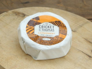 Cricket St Thomas Camembert, Individual cheese 220g.