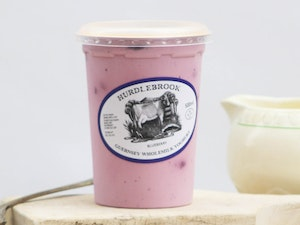 Blueberry Yoghurt, Guernsey Wholemilk, 500ml