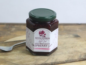 Soft Set High Fruit Rasberry Jam, 340g