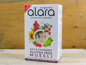 Alara Goji and Cranberry,  Organic Muesli, 450g